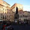 W Rzymie na Campo di Fiori...