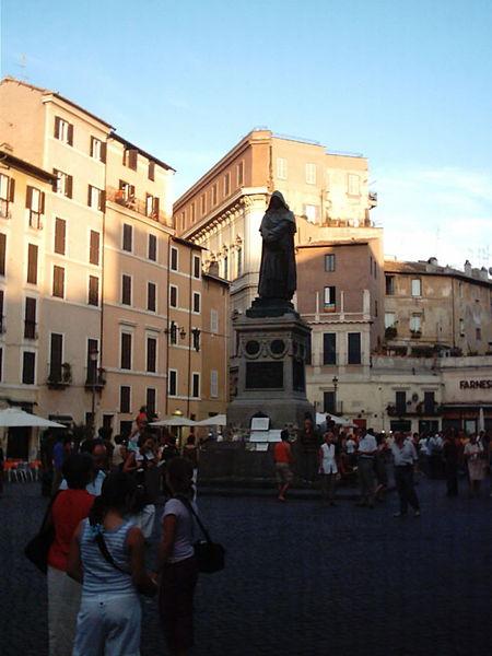 W Rzymie Na Campo Di Fiori
