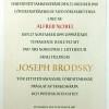 Rocznica śmierci Josifa Brodskiego