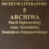 Katalog rękopisów Muzeum Literatury