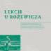 Kępiński o Drzewuckim i Różewiczu